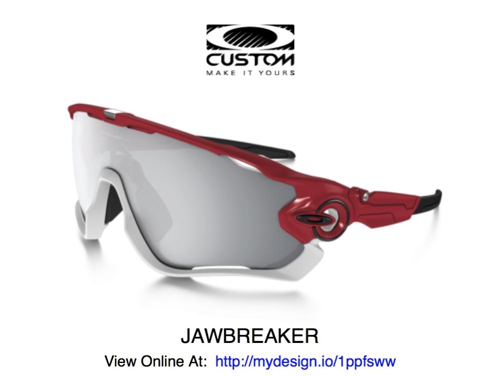 Oakley Jaw Breakers Christmas copy