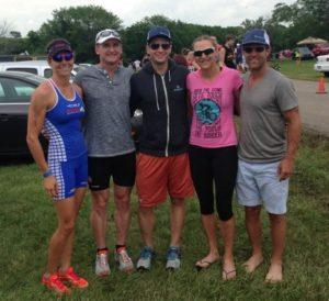 The Purplepatch Team at Kansas 70.3