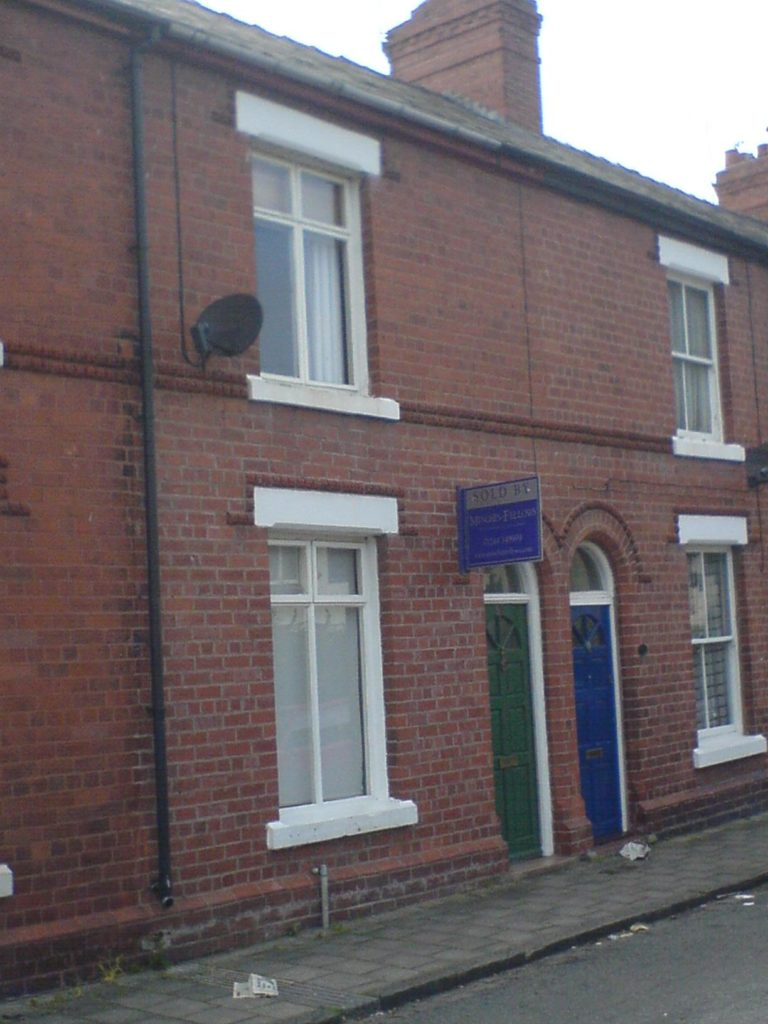 My first house - a fab little terrace in Handbridge, Chester, UK