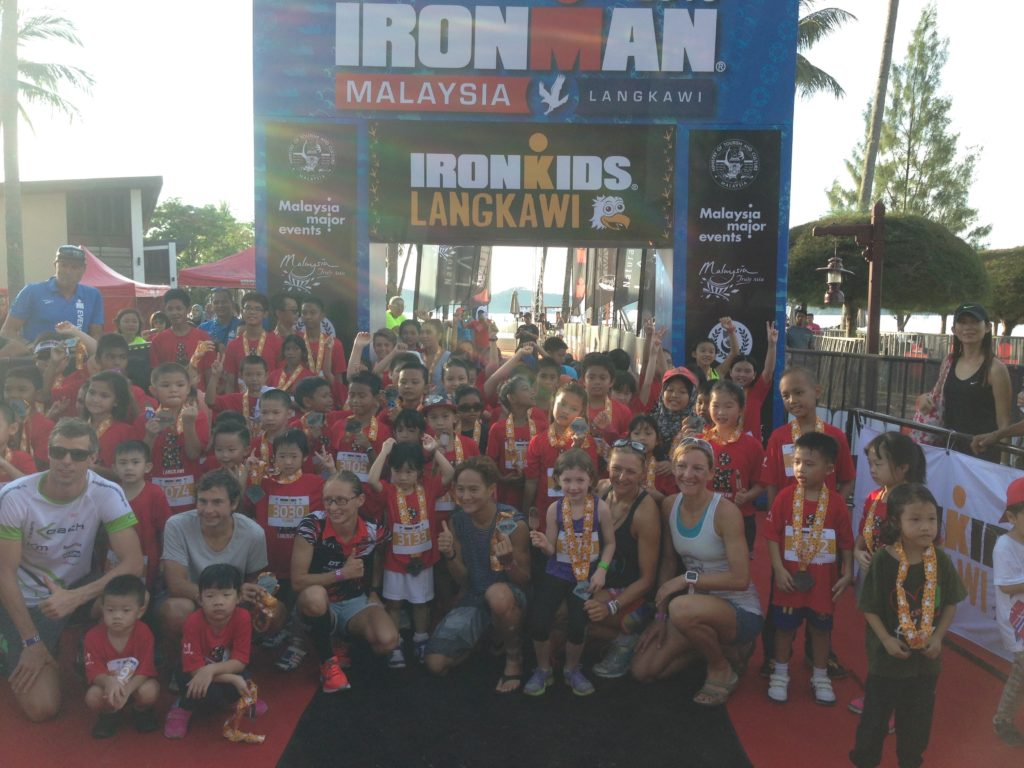 Great morning with the Ironkids!