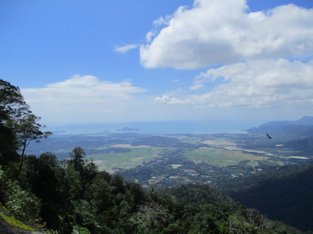 Views over Langkawi from Gunung Raya - the highest point on the island