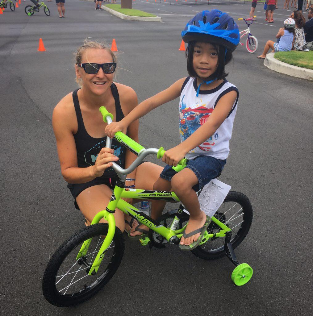 Building bikes in Kona