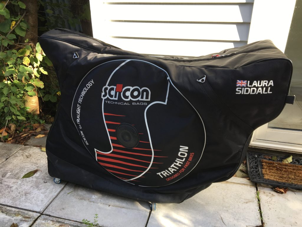 Good job the Scicon bags are easy and more importantly quick to pack!