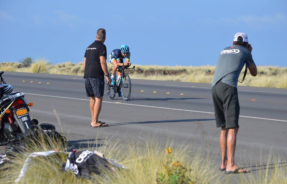 Captured by the Ceepo crew out on the Queen K during the race
