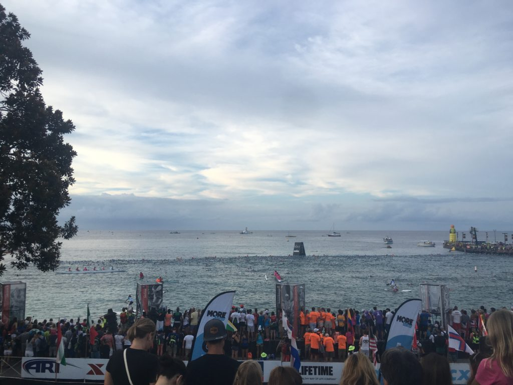 Race Start (2016) this year I was somewhere in the water already!
